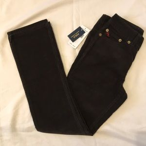Boys Ralph Lauren dark brown cords